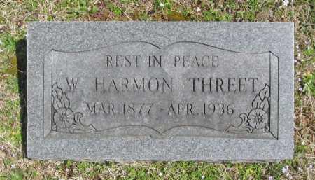 THREET, W HARMON - Benton County, Arkansas | W HARMON THREET - Arkansas Gravestone Photos