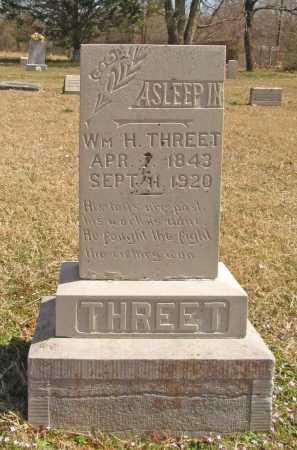 THREET (VETERAN CSA), WILLIAM HARMON - Benton County, Arkansas | WILLIAM HARMON THREET (VETERAN CSA) - Arkansas Gravestone Photos