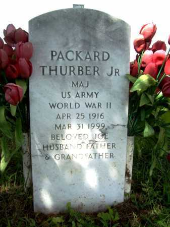 THURBER, JR  (VETERAN WWII), PACKARD - Benton County, Arkansas | PACKARD THURBER, JR  (VETERAN WWII) - Arkansas Gravestone Photos