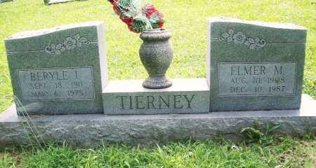 TIERNEY, BERYLE I. - Benton County, Arkansas | BERYLE I. TIERNEY - Arkansas Gravestone Photos