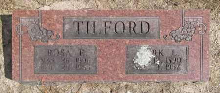 TILFORD, ROSA E. - Benton County, Arkansas | ROSA E. TILFORD - Arkansas Gravestone Photos