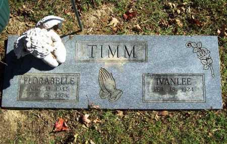 TIMM, FLORABELLE - Benton County, Arkansas | FLORABELLE TIMM - Arkansas Gravestone Photos