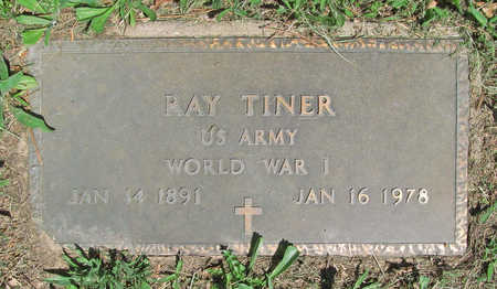 TINER (VETERAN WWI), RAY - Benton County, Arkansas | RAY TINER (VETERAN WWI) - Arkansas Gravestone Photos