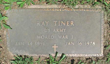 TINER (VETERAN WWI), RAY - Benton County, Arkansas | RAY TINER (VETERAN WWI) - Arkansas Gravestone Photos