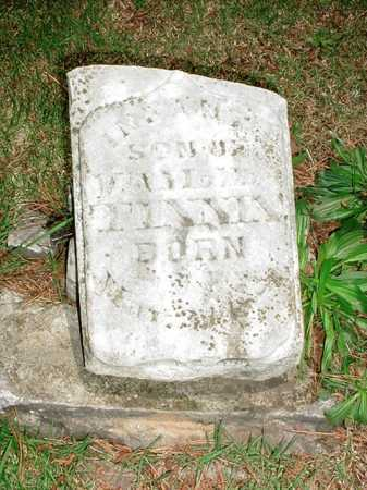 TINNIN, INFANT SON - Benton County, Arkansas | INFANT SON TINNIN - Arkansas Gravestone Photos