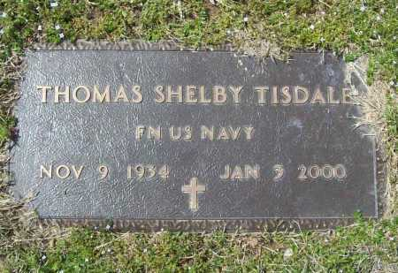 TISDALE (VETERAN), THOMAS SHELBY - Benton County, Arkansas | THOMAS SHELBY TISDALE (VETERAN) - Arkansas Gravestone Photos