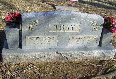 TOAY, BETTY - Benton County, Arkansas | BETTY TOAY - Arkansas Gravestone Photos