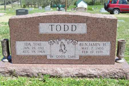 TODD, IDA MAE - Benton County, Arkansas | IDA MAE TODD - Arkansas Gravestone Photos
