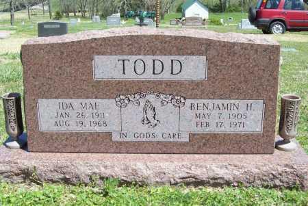 TODD, BENJAMIN H. - Benton County, Arkansas | BENJAMIN H. TODD - Arkansas Gravestone Photos
