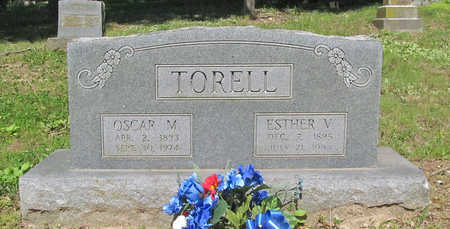 TORELL, ESTHER VICTORIA - Benton County, Arkansas | ESTHER VICTORIA TORELL - Arkansas Gravestone Photos