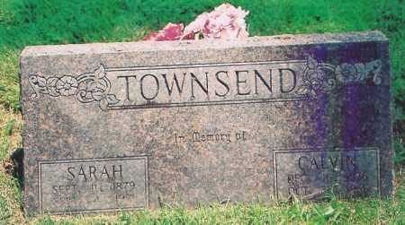 TOWNSEND, SARAH ANN - Benton County, Arkansas | SARAH ANN TOWNSEND - Arkansas Gravestone Photos