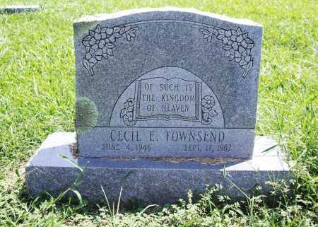 TOWNSEND, CECIL E. - Benton County, Arkansas | CECIL E. TOWNSEND - Arkansas Gravestone Photos