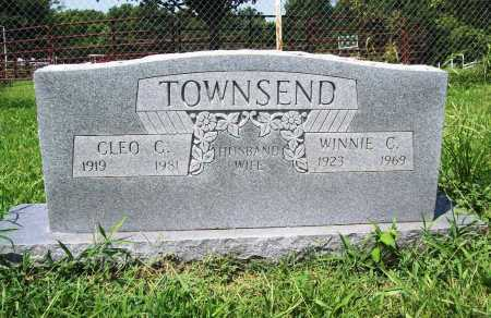TOWNSEND, WINNIE C. - Benton County, Arkansas | WINNIE C. TOWNSEND - Arkansas Gravestone Photos