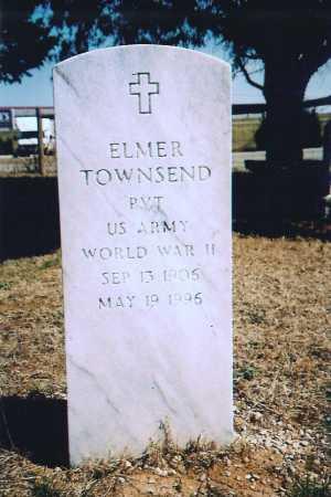 TOWNSEND (VETERAN WWII), ELMER - Benton County, Arkansas | ELMER TOWNSEND (VETERAN WWII) - Arkansas Gravestone Photos