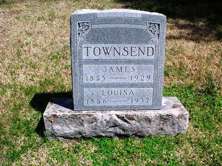 TOWNSEND, JAMES A. - Benton County, Arkansas | JAMES A. TOWNSEND - Arkansas Gravestone Photos
