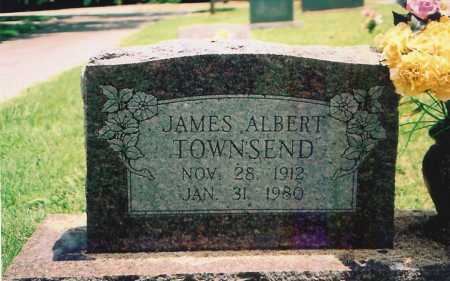 TOWNSEND, JAMES ALBERT - Benton County, Arkansas | JAMES ALBERT TOWNSEND - Arkansas Gravestone Photos