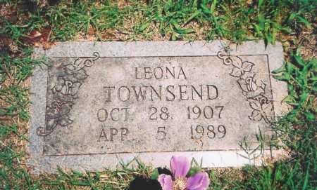 BIRGE TOWNSEND, LEONA - Benton County, Arkansas | LEONA BIRGE TOWNSEND - Arkansas Gravestone Photos