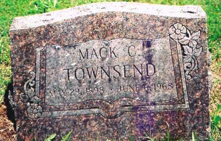 TOWNSEND, MACK C. - Benton County, Arkansas | MACK C. TOWNSEND - Arkansas Gravestone Photos