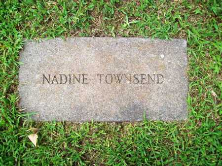 TOWNSEND, NADINE - Benton County, Arkansas | NADINE TOWNSEND - Arkansas Gravestone Photos