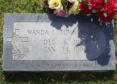 TOWNSEND, WANDA L. - Benton County, Arkansas | WANDA L. TOWNSEND - Arkansas Gravestone Photos