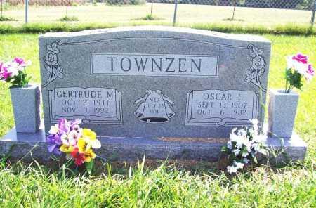 TOWNZEN, GERTRUDE M. - Benton County, Arkansas | GERTRUDE M. TOWNZEN - Arkansas Gravestone Photos