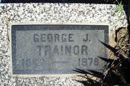 TRAINOR, GEORGE J. - Benton County, Arkansas | GEORGE J. TRAINOR - Arkansas Gravestone Photos