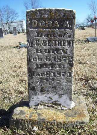 TRENT, DORA A. - Benton County, Arkansas | DORA A. TRENT - Arkansas Gravestone Photos