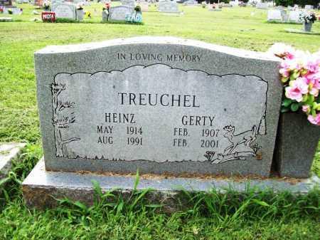 TREUCHEL, GERTY - Benton County, Arkansas | GERTY TREUCHEL - Arkansas Gravestone Photos