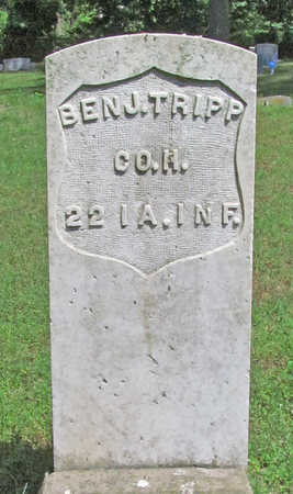 TRIPP (VETERAN UNION), BENJAMIN - Benton County, Arkansas | BENJAMIN TRIPP (VETERAN UNION) - Arkansas Gravestone Photos