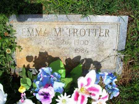 TROTTER, EMMA M. - Benton County, Arkansas | EMMA M. TROTTER - Arkansas Gravestone Photos