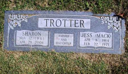 TROTTER, JESS (MACK) - Benton County, Arkansas | JESS (MACK) TROTTER - Arkansas Gravestone Photos