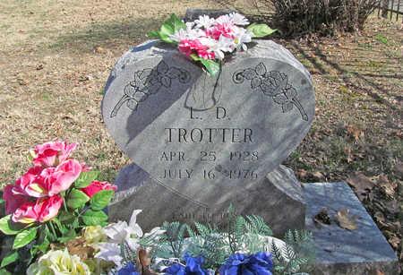 TROTTER, L D - Benton County, Arkansas | L D TROTTER - Arkansas Gravestone Photos