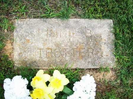 TROTTER, MINNIE B. - Benton County, Arkansas | MINNIE B. TROTTER - Arkansas Gravestone Photos