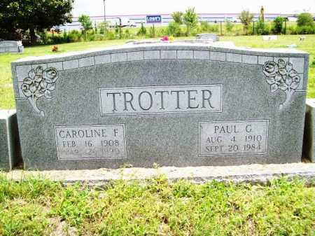 TROTTER, PAUL G. - Benton County, Arkansas | PAUL G. TROTTER - Arkansas Gravestone Photos