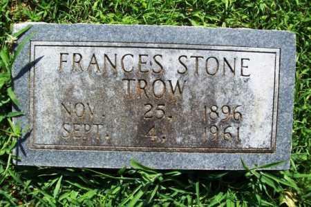 TROW, FRANCES - Benton County, Arkansas | FRANCES TROW - Arkansas Gravestone Photos