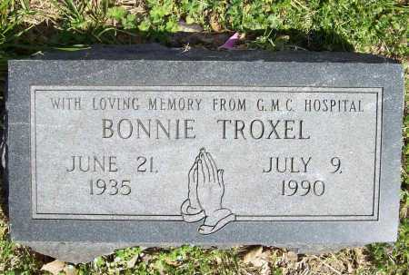 TROXEL, BONNIE - Benton County, Arkansas | BONNIE TROXEL - Arkansas Gravestone Photos