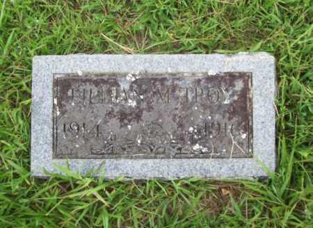 TROY, LILLIAN M. - Benton County, Arkansas | LILLIAN M. TROY - Arkansas Gravestone Photos