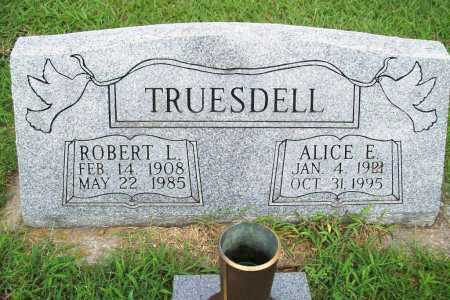 TRUESDELL, ALICE E. - Benton County, Arkansas | ALICE E. TRUESDELL - Arkansas Gravestone Photos