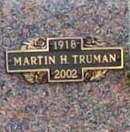 TRUMAN, MARTIN H. - Benton County, Arkansas | MARTIN H. TRUMAN - Arkansas Gravestone Photos