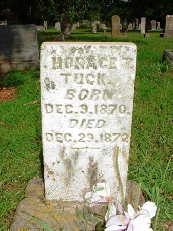 TUCK, HORACE T. - Benton County, Arkansas | HORACE T. TUCK - Arkansas Gravestone Photos