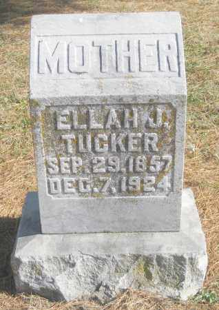 TUCKER, ELLAH J. - Benton County, Arkansas | ELLAH J. TUCKER - Arkansas Gravestone Photos