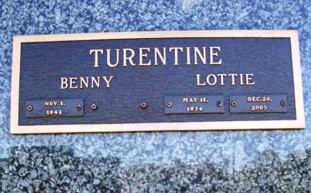 GRAVES TURENTINE, LOTTIE ROSE - Benton County, Arkansas | LOTTIE ROSE GRAVES TURENTINE - Arkansas Gravestone Photos