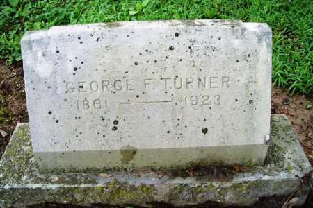TURNER, GEORGE F. - Benton County, Arkansas | GEORGE F. TURNER - Arkansas Gravestone Photos