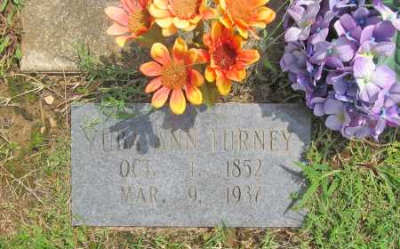 TURNEY, ZUBA ANN - Benton County, Arkansas   ZUBA ANN TURNEY - Arkansas Gravestone Photos