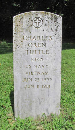 TUTTLE (VETERAN VIET), CHARLES OREN - Benton County, Arkansas | CHARLES OREN TUTTLE (VETERAN VIET) - Arkansas Gravestone Photos