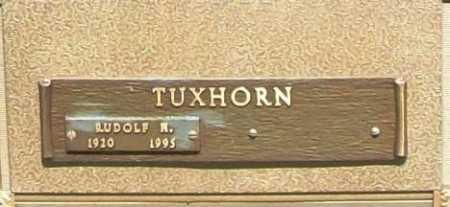 TUXHORN, RUDOLF N. - Benton County, Arkansas | RUDOLF N. TUXHORN - Arkansas Gravestone Photos