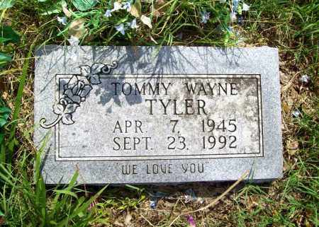 TYLER, TOMMY WAYNE - Benton County, Arkansas | TOMMY WAYNE TYLER - Arkansas Gravestone Photos