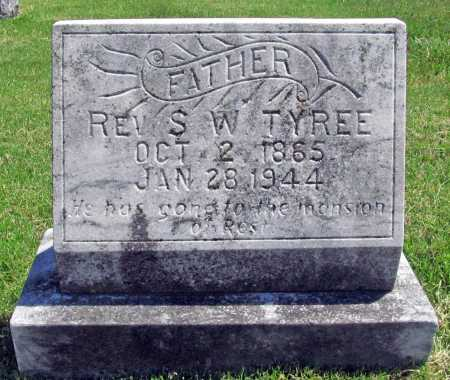 TYREE, REV. S. W. - Benton County, Arkansas | REV. S. W. TYREE - Arkansas Gravestone Photos