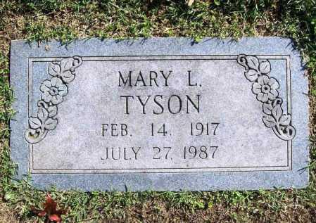 TYSON, MARY L. - Benton County, Arkansas | MARY L. TYSON - Arkansas Gravestone Photos