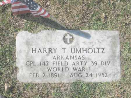 UMHOLTZ (VETERAN WWI), HARRY T. - Benton County, Arkansas | HARRY T. UMHOLTZ (VETERAN WWI) - Arkansas Gravestone Photos